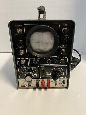 Rca Wo-33a Oscilloscope - Portable Desktop Ham Radio Diagnostic