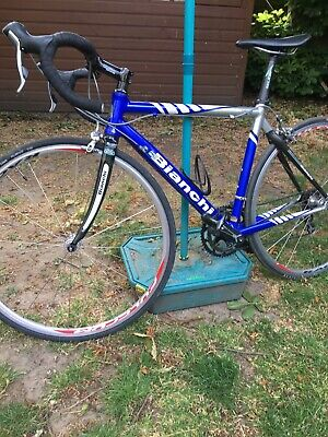 Bianchi via nirone Road Bike. Carbon fork, Size medium (not Boardman Or Trek)