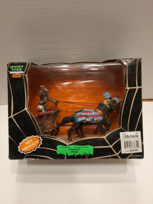 Lemax Spooky Town Chariot #83672 Retired