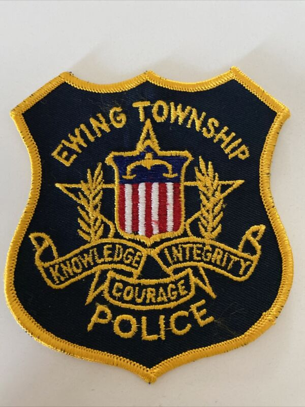Old Ewing New Jersey Police Patch (Township) in Great Shape