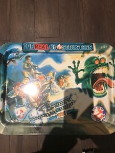 The real Ghostbusters TV tray