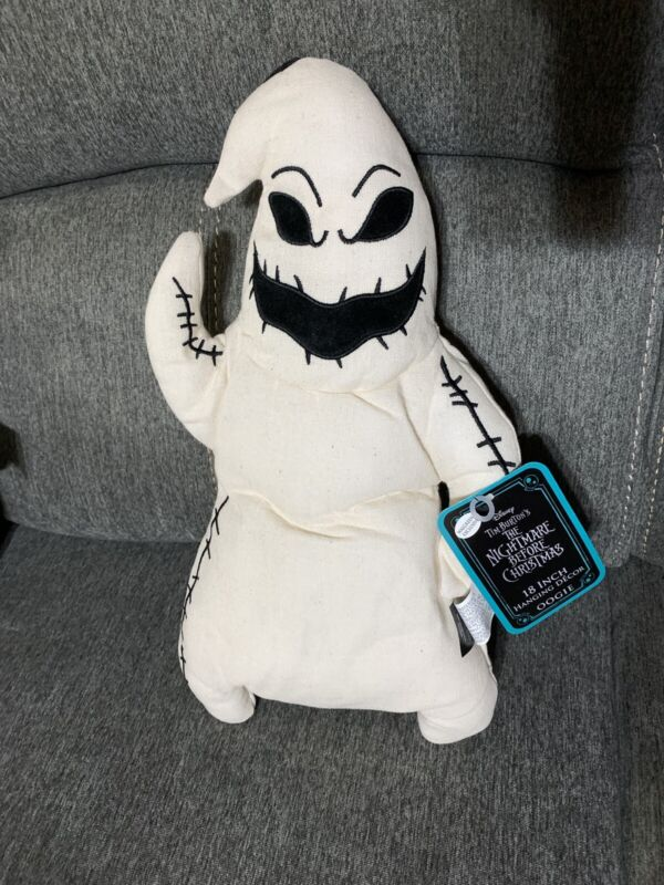 New Disney NBC Nightmare Before Christmas Oogie Boogie 18 Inch Hanging Decor