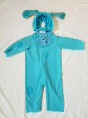 Blues Clues Costume Blue Dog Baby Size 0-6 - Blues Clues Halloween
