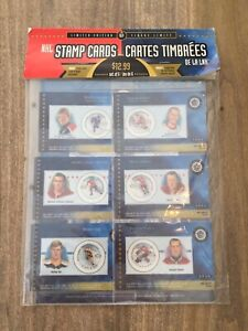2000 Limited Edition NHL Stamp Cards NEW