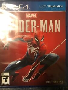 Spiderman for Ps4 $40