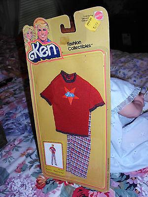 Ken Fashion Collectibles #2792 1979 Barbie Vintage Mattel NRFC