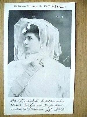Postcards- Theatre & Opera Actresses CASSIVE by Vin Desiles