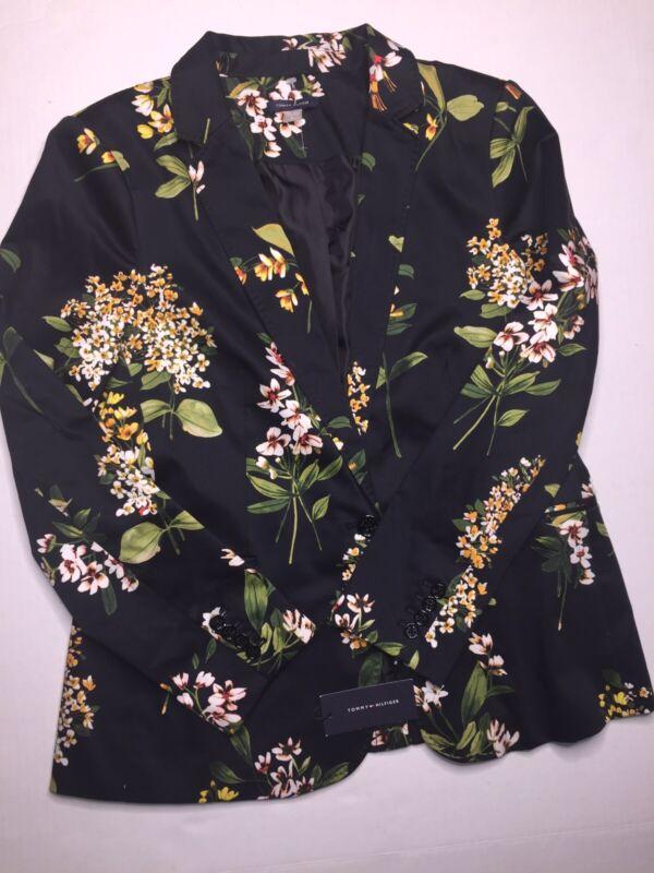 Tommy Hilfiger Floral Blazer NWT Size 16