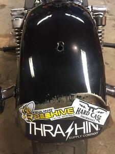 2013 Harley street bob fender crunched