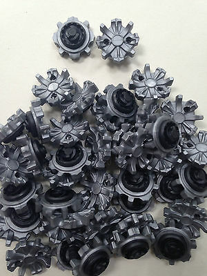16 x JL Golf anti twisting clogging Shoes Spikes Cleats for fast release