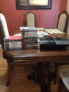 Broken PS3 and games for cheap