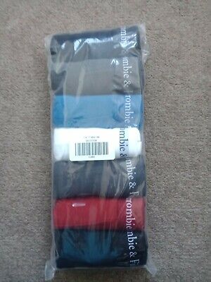 ABERCROMBIE AND FITCH MEN'S 7-Pack Boxer Briefs SIZE XL