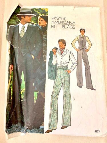 VOGUE AMERICAN DESIGNER SEWING PATTERN 1129 BILL BLASS 70