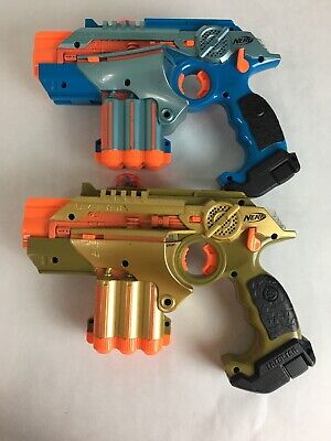 Nerf Official Lazer Tag Phoenix LTX Tagger 2-pack Fun Multiplayer Laser Tag
