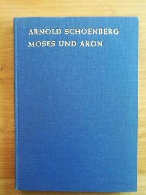 Noten. Schönberg. Moses und Aron. Partitur.