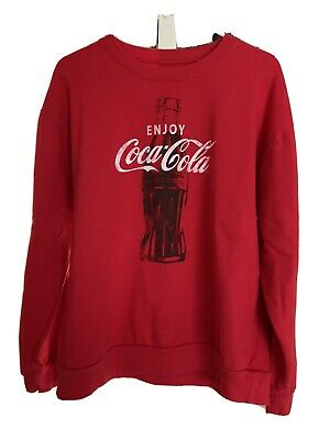 Coca Cola Red Crewnneck Sweatshirt