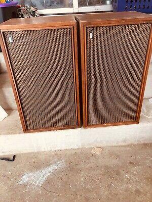 Vintage Fisher Stereo XP-7B Speakers Floor Speaker Stereo Speakers