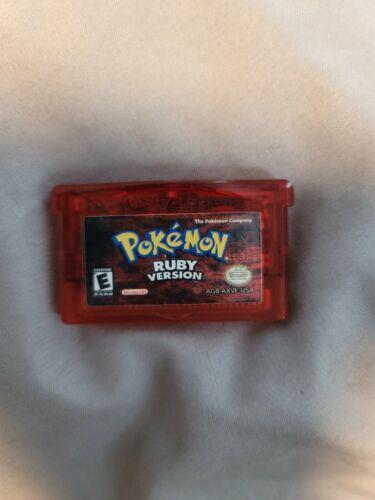 Pok mon Ruby Version Game Boy Advance, 2003 Authentic - $24.50