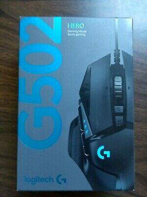 Logitech G502 HERO Wired Gaming Mouse With RGB Lighting
