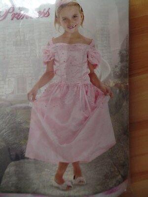 NEU Fasching Karneval Kostüm Kinder Mädchen Prinzessin Fee Dornröschen (Dornröschen Feen Kostüme)