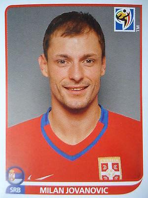 Serbien Wm (Panini 312 Milan Jovanovic Serbien FIFA WM 2010 Südafrika)
