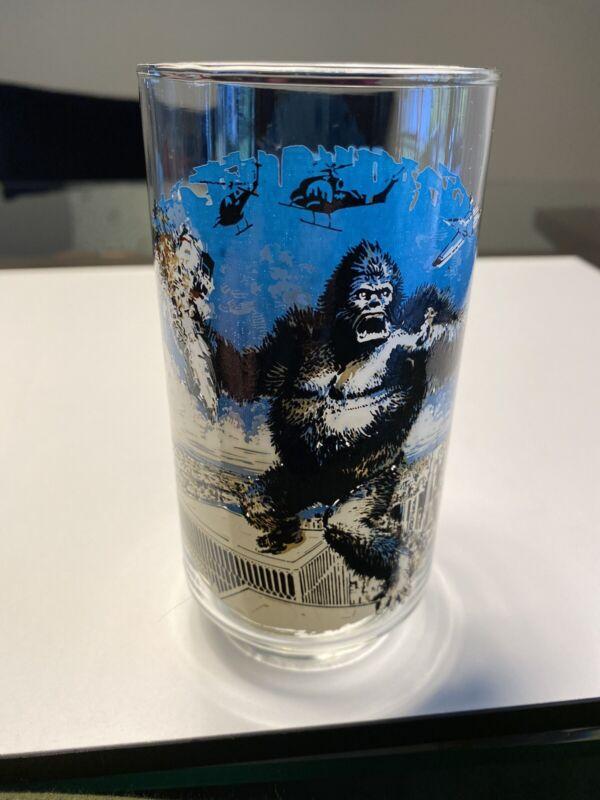 Vintage King Kong Glass Coca Cola 1976
