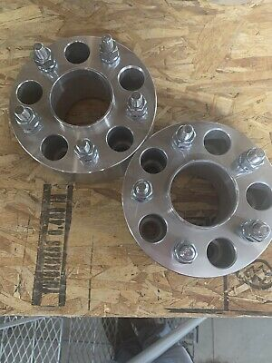"2x 2.5"" USED Hubcentric Wheel Spacers 5x4.75 Fits Chevy Camaro Corvette S10"
