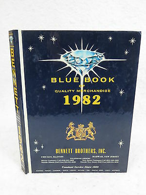 Blue Book Of Quality Merchandise 1982  Illustrated   Bennett Brothers  1982