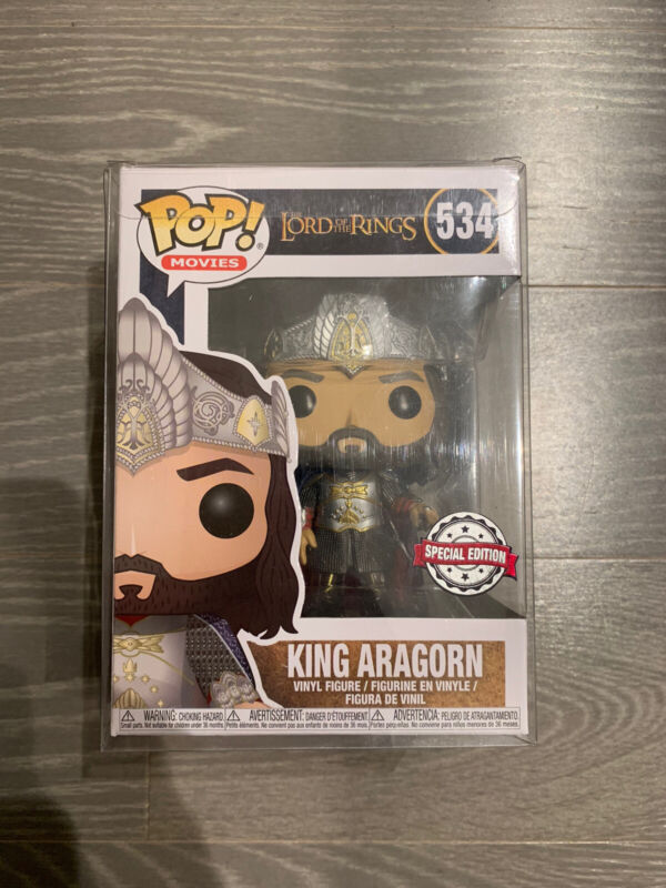 PRE ORDER KING ARAGORN LORD OF THE RINGS EXCLUSIVE FUNKO POP FIGURA FIGURE