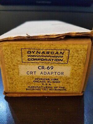 Nos Nib Bk Precision Dynascan Cr-69 Crt Adaptor