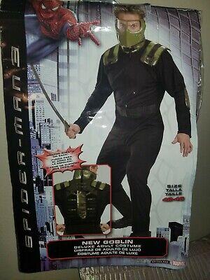Disguise Spider Man 3 New Goblin Men Size 42-46 Halloween - Goblin Spiderman Kostüm
