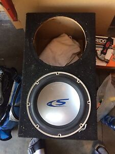 2 12 inch subwoofer box