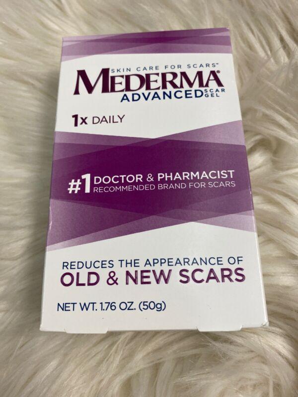 Mederma Advanced Scar Gel Skin Care for Scars 1.76 OZ Exp 6/2021+
