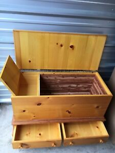 Pine and Cedar Hope Chest