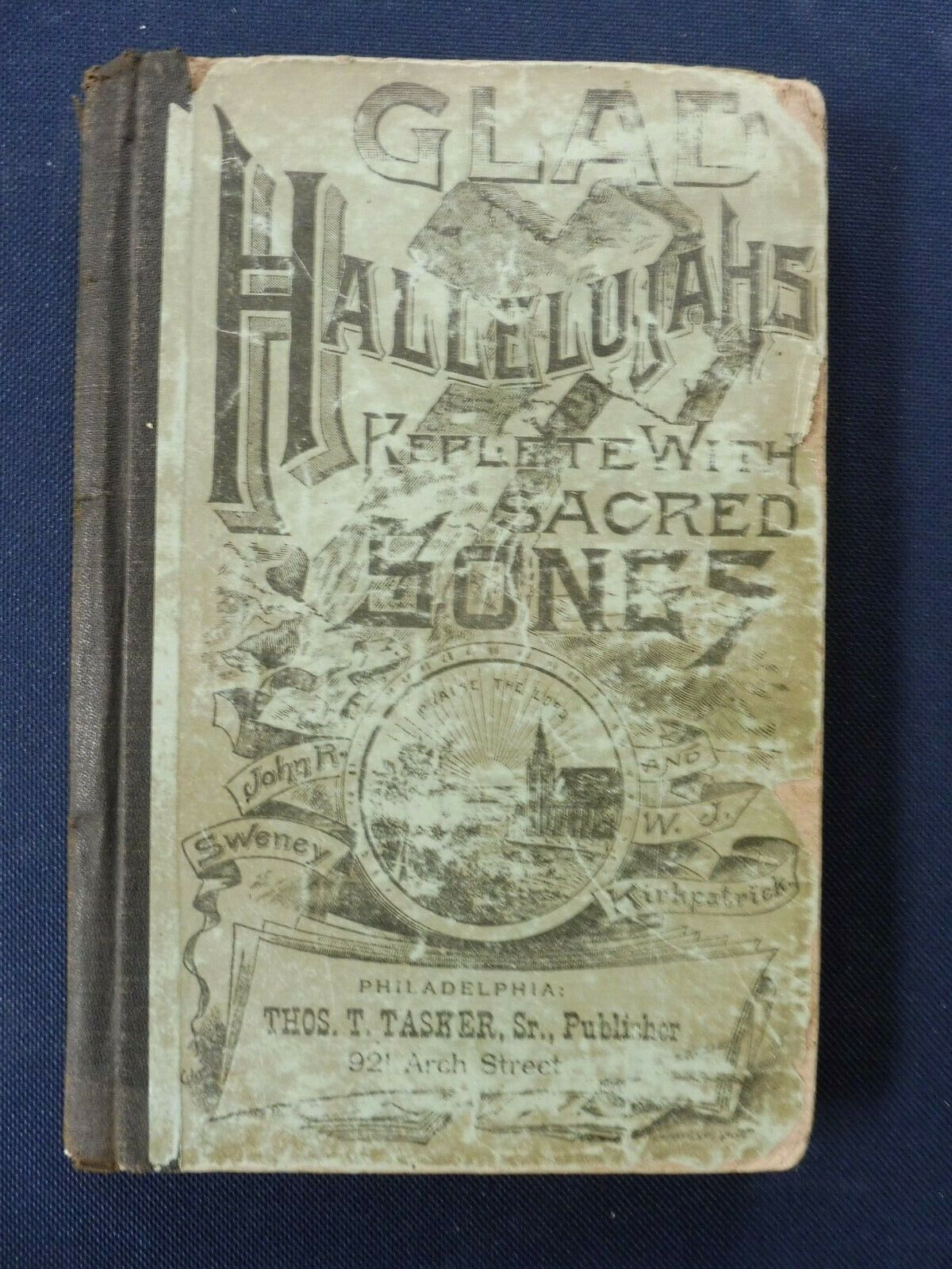 Glad Hallelujahs Replete With Sacred Songs 1887  - $25.00