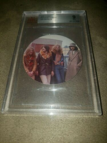 1970 Tonibell Led Zeppelin rookie card-BGS 9 Mint condition
