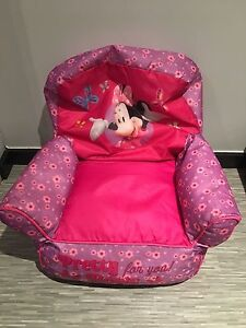 minnie mouse toddle sofa chair