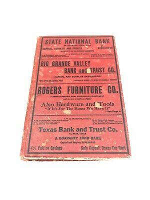 El Paso Texas City Directory 1918 - Hudspeth Directory FREE SHIPPING