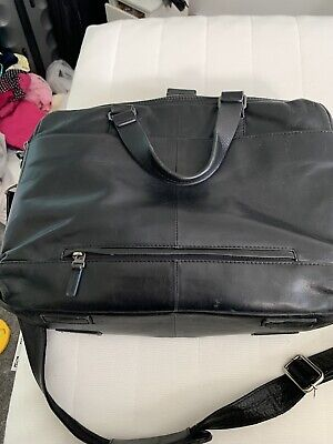 samsonite laptop bag Leather.