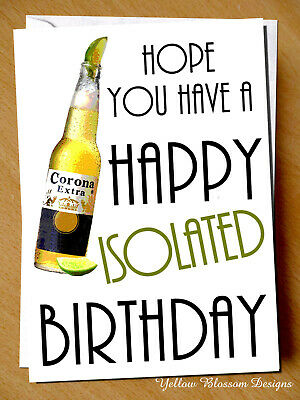 Funny Joke Birthday Card Wife Husband Boyfriend Girlfriend  Virus Isolation 19