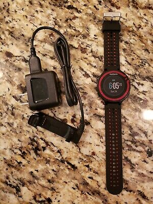 GARMIN FORERUNNER 220 GPS RUNNING WATCH BLACK/RED