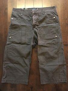 Pantalons Capri brun grandeur 31 (12)