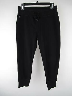 90 Degrees Women's sz S Deadly Cuffed Ankle Drawstring Activewear Joggers Capris