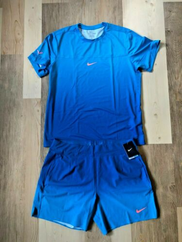 Nike Nadal 2017 French Open Shirt (Used) & Shorts (NWT) in XL