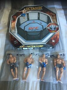 UFC Figure and Ring Lot