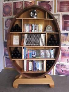 Wine Cellar Barrel Display case