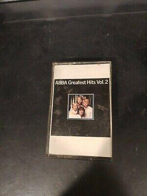 ABBA Greatest Hits Vol. 2 Cassette Tape Atlantic 1979