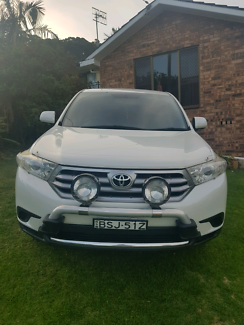 Toyota Kluger 2012 KXR AWD Automatic with Spot lights Wamberal Gosford Area Preview