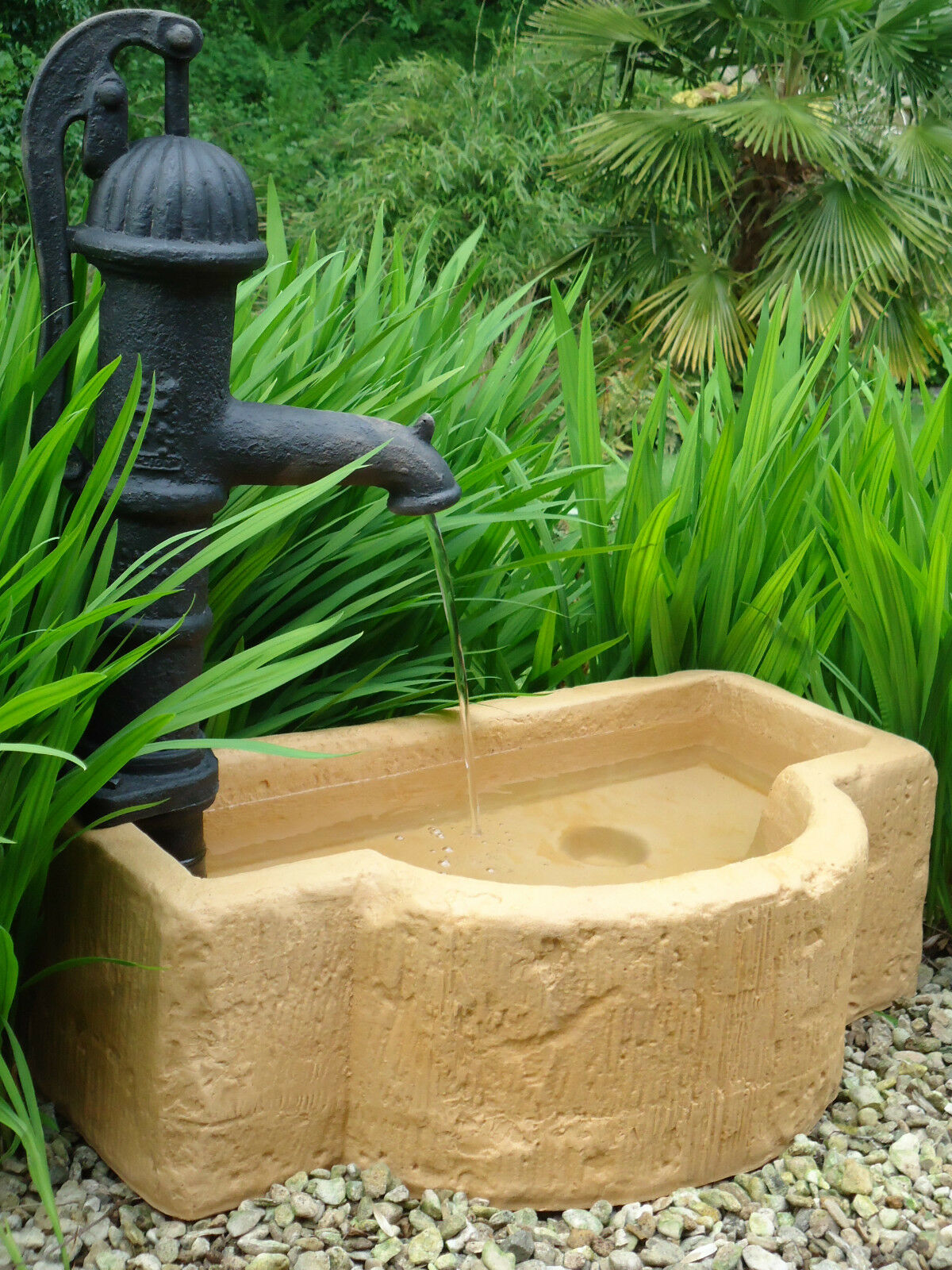 Water feature garden cotswold tough c w ornamental hand for Ornamental garden features