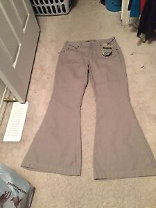 WOMEN'S NWT SILVER PANTS
